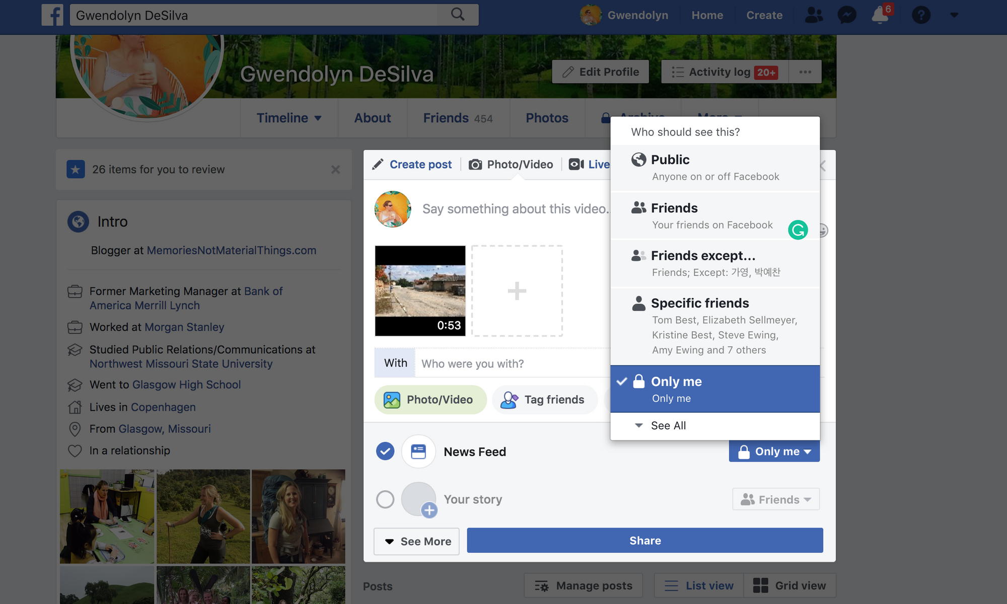 Easily Add Captions to Facebook Profile Page Videos